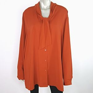 Maggie Barnes Womens Top Plus Size 28W